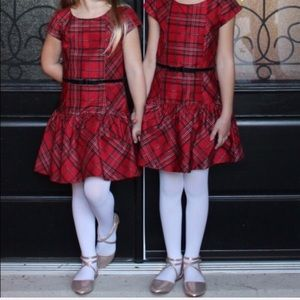 Gymboree holiday red plaid 7 - match available